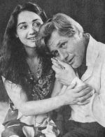 Olga Misevra as masha and Leonid Tarabarinov